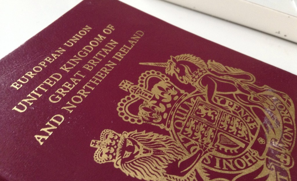 British Passport Fully-loaded with a Beautiful Visa